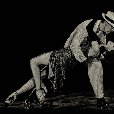 scratchboard portrait, scratchboard, kendall king, art, fred astaire, cyd charisse, ballroom, bandwaggon